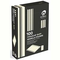 OLYMPIC MANILLA FOLDER FOOLSCAP BUFF 163GSM BOX 100