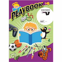 OLYMPIC PLAYBOOK 10MM RULED AND PLAIN 64 PAGE 335 X 240MM