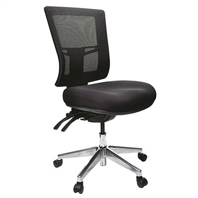 Buro Metro Ii 24 7 Office Chair Mesh High Back 3 Lever Polished