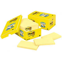 POST-IT 655-18CP ORIGINAL NOTES 76 X 127MM YELLOW CABINET PACK 18