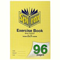 SPIRAX 108 EXERCISE BOOK RULED 8MM 70GSM 96 PAGE A4