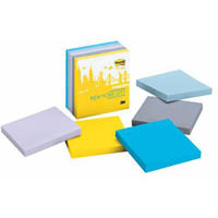 POST-IT 654-5SSNY NOTES 76 X 76MM NEW YORK PACK 5