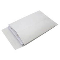 CUMBERLAND ENVELOPES POCKET EXPANDABLE PLAINFACE STRIP SEAL 150GSM 245 X 162MM WHITE PACK 25