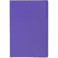 MARBIG MANILLA FOLDER FOOLSCAP PURPLE BOX 100
