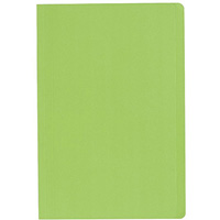 MARBIG MANILLA FOLDER FOOLSCAP LIGHT GREEN BOX 100