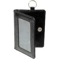 REXEL WALLET WITH KEY RING PU FINISH