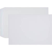 CUMBERLAND C4 ENVELOPES POCKET LICK AND STICK 100GSM 229 X 324MM WHITE BOX 250