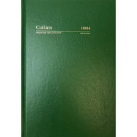 COLLINS 2020-2021 FINANCIAL YEAR DIARY DAY TO PAGE 1 HOUR A5 GREEN