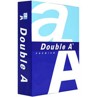 DOUBLE A A5 SMOOTHER COPY PAPER 80GSM WHITE PACK 500 SHEETS