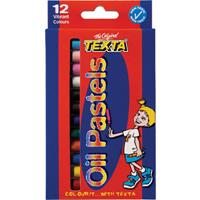 TEXTA LARGE OIL PASTELS PACK 12