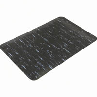 MATTEK MARBLE FOOT ANTI-FATIGUE MAT BLACK 600 X 900MM