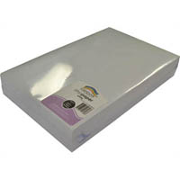 RAINBOW LITHO PAPER 94GSM 380 X 255MM WHITE PACK 500