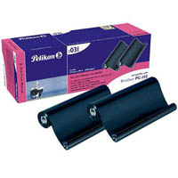 PELIKAN COMPATIBLE BROTHER PC-302 FAX FILM REFILL BLACK TWIN PACK