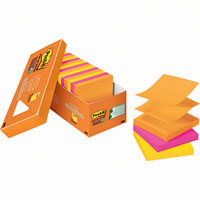 POST-IT R330-18SSAUCP SUPER STICKY POP-UP NOTES 76 X 76MM RIO DE JANIERO CABINET PACK 18