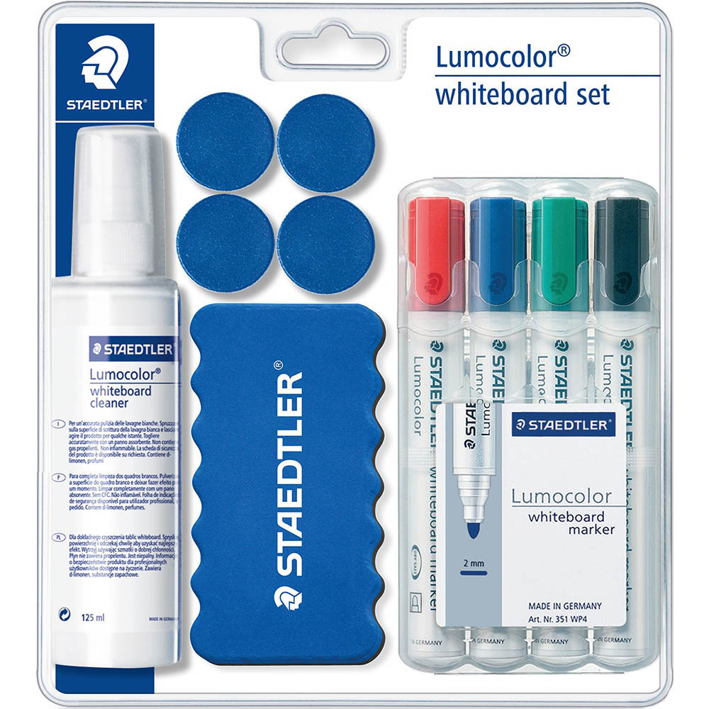 Image For STAEDTLER LUMOCOLOR WHITEBOARD SET From Copylink Office Products  Depot